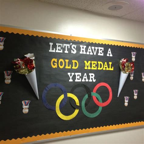 themes for olympic games olympic themed room this year bulletin boards doors