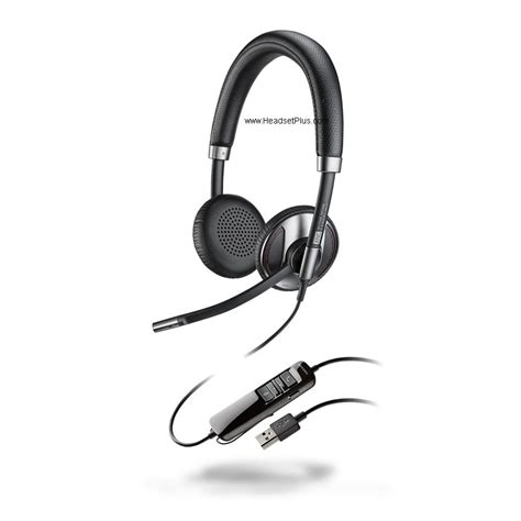 Headset Plus Microphone by Computer Usb Headsets Headsetplus Plantronics Jabra