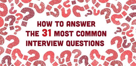 how to answer the 31 most common questions the insyder the teeniez voice