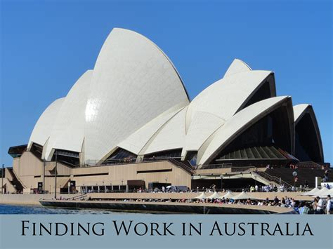 Finding In Australia Working Holidays Finding Work In Australia Travel With Kaydo