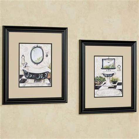 framed art for the bathroom bath framed wall art set