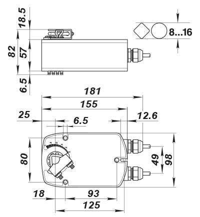 belimo der actuator wiring diagram wiring diagram
