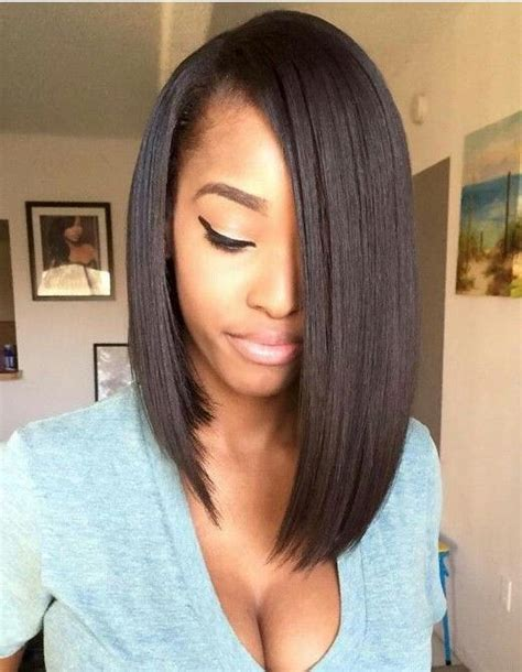 black hair weave pictures bob long 2018 latest long bob hairstyles with weave