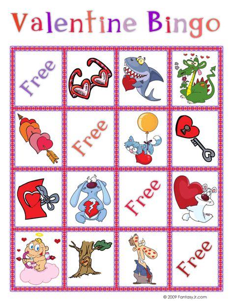 printable games for valentine s day valentine bingo printable cards