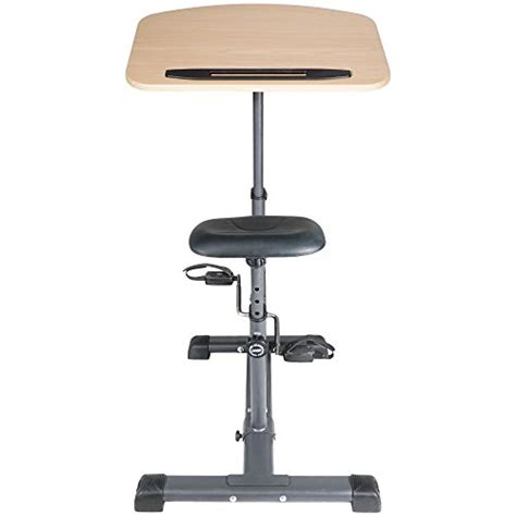 stand up desk exercises titan fitness cycling adjustable standing exercise desk