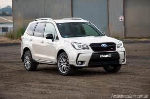 Forester Subaru 2016 Subaru Forester Ts Sti Review Performancedrive
