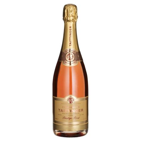 martini chagne rose taittinger cuvee prestige rose