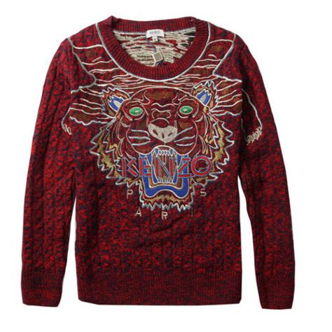 Kenzo Sweater Import 1 kenzo tiger cable knit sweater