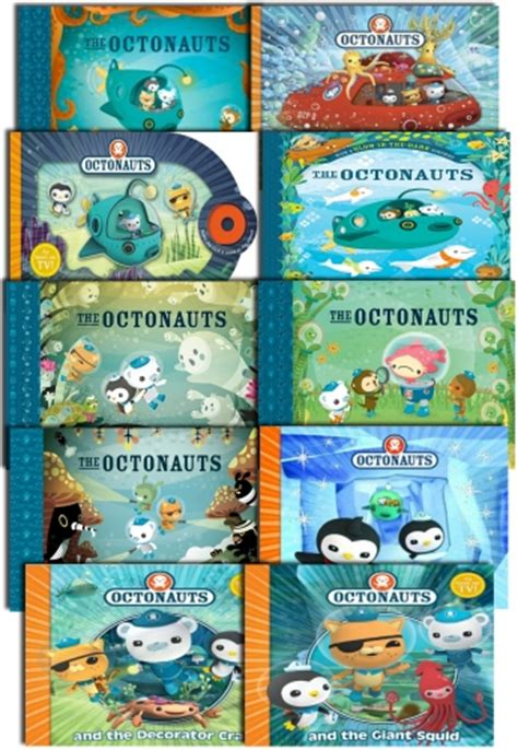 the octonauts underwater adventures box set books octonauts series 10 book collection set pack buy books