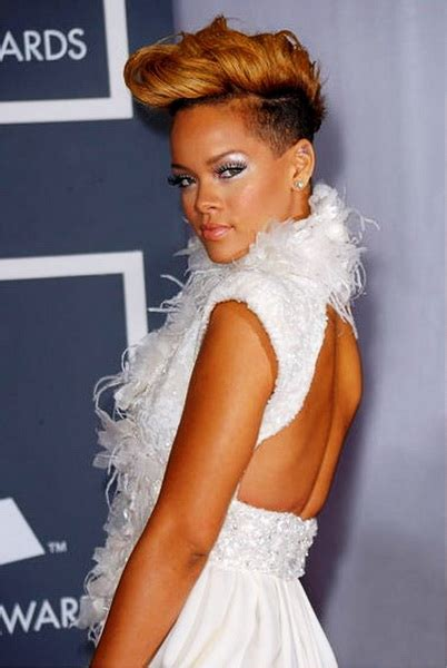Rihanna Mohawk Hairstyles by Mohawk Hairstyles For Yve Style