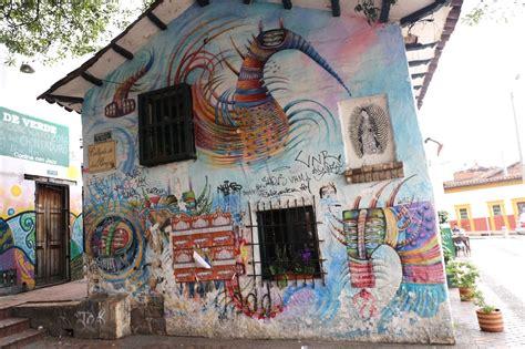 street art fans enjoy  colombian history lesson