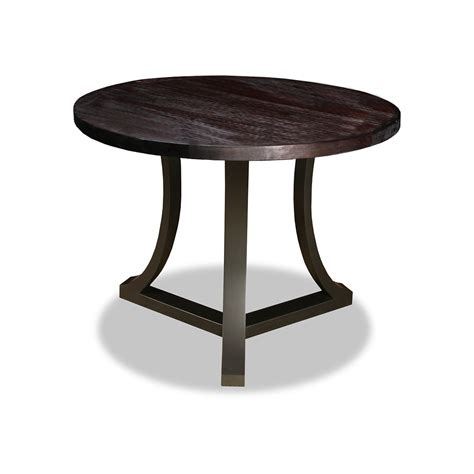 Belle Reclaimed Wood Round Dining Table » Home Design 2017