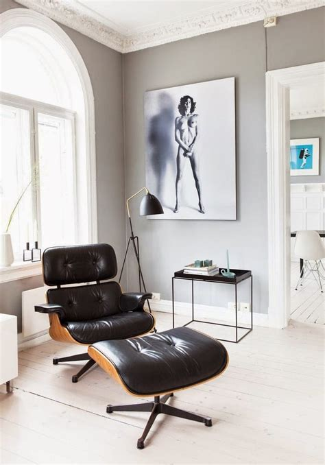 Eames Lounge Chair Copy by De Eames Lounge Chair Door Charles En Eames Roomed
