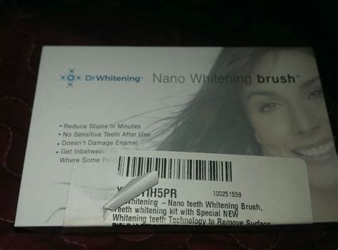Dr Whitening dr whitening nano brush review thrifty southern gal