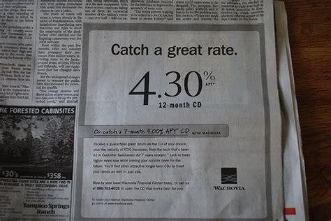 cd at bank wachovia bank cd ad angelo fernando flickr