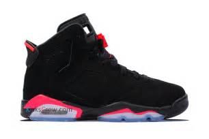 Order 384665 023 nike air jordan 6 retro bg black infrared online buy