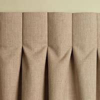 inverted pleat drapery high street market designer tip inverted box pleat drapery