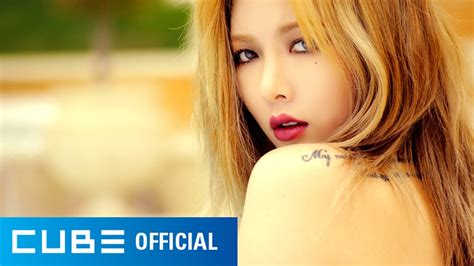 hyuna reveals sexy behind the scenes stills of album photo 4minute s hyuna reveals teaser video for 4th mini solo