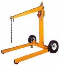 rental equipment engine hoist hydraulic dolly towable clairemont equipment