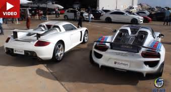 Porsche Gt Spyder Past Vs Present Porsche Gt Takes On 918 Spyder