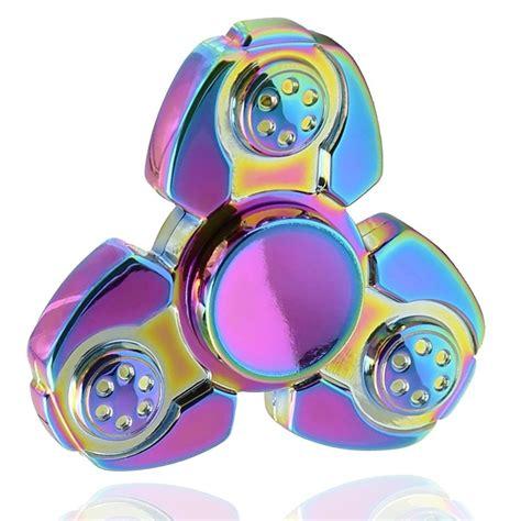 Fidget Spinner Rainbow rainbow tetris fidget spinner spinner edc adhd toys