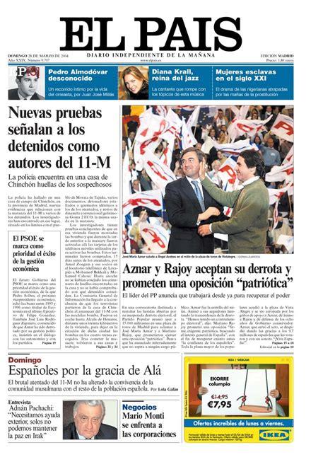 28 de marzo portada 28 de marzo de 2004 aniversario el pa 205 s