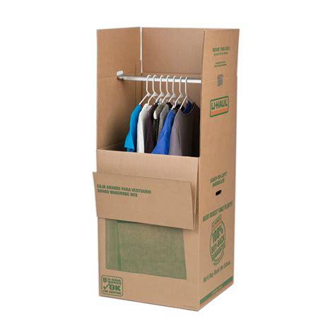 Large Wardrobe Boxes - u haul large wardrobe box
