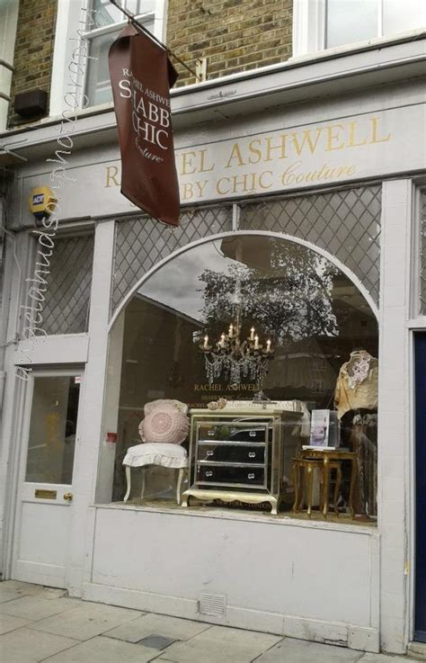Rachel Ashwell S London Shabby Chic Shop Cute Storefront Shabby Chic Store