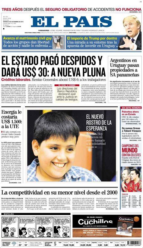 medios de prensa uruguay total noticias de uruguay con dieguito n u d noviembre 2012