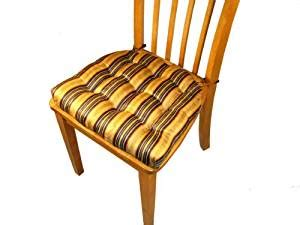 dining room chair cushions with ties dining chair pad with ties fairbury stripe