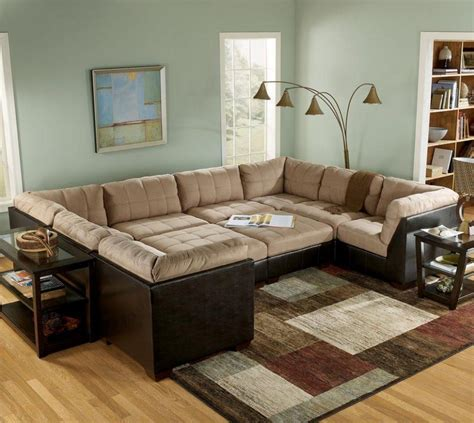 Best Large Sectional Sofa 20 Inspirations Wide Sectional Sofa Sofa Ideas