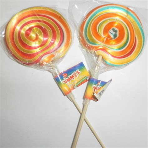 Handmade Lollies - yummys rainbow lollies handmade lolly pops
