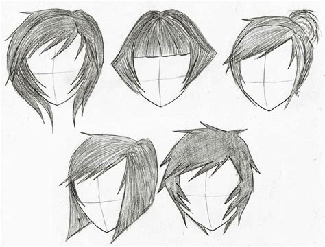 animation hairstyles short anime hairstyles female short hairstyles by unixcode