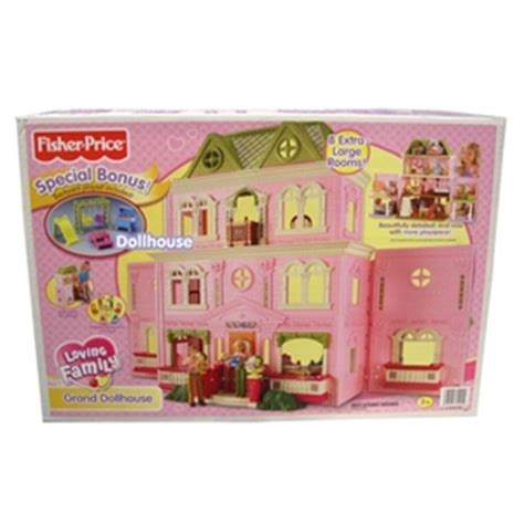 backyard dollhouse buy fisher price loving family grand dollhouse with bonus backyard playset