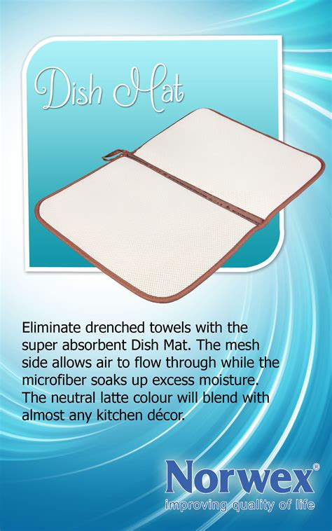 Dish Mat - norwex dish mat pile dishes high while you save time and