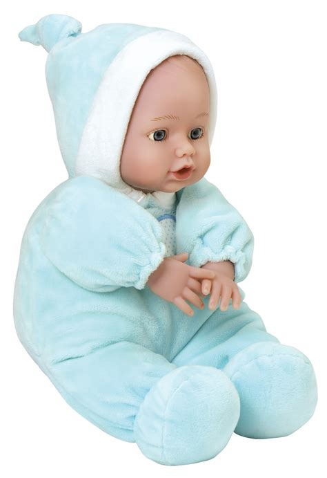 Baby Doll Blue adora toys baby dolls washable 12 quot cuddle baby doll blue