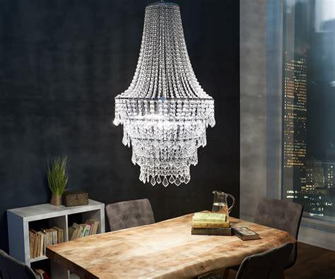 kronleuchter 60 cm kronleuchter royal deluxe 60 cm transparent m 246 bel leuchten