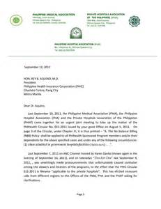 Authorization Letter Format For Philhealth Philhealth 101 September 2011