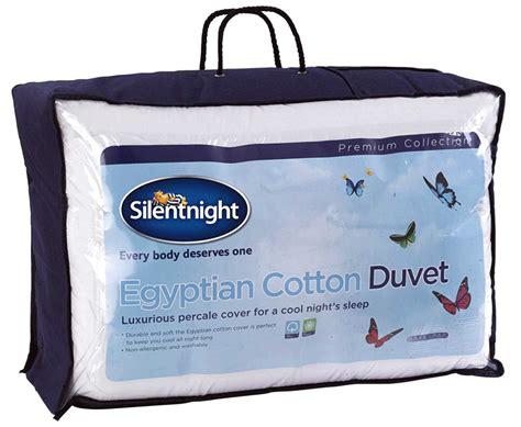 Tottenham Duvet Cover Silentnight Egyptian Cotton Duvet 4 5 Tog Single Size