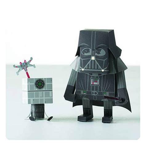 Papercraft Darth Vader - momot darth vader papercraft figure kit mightymega