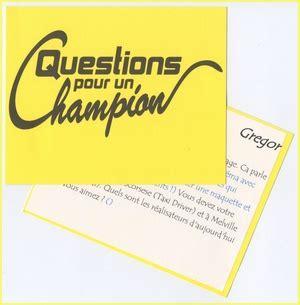 Question Pour Or La Carte De Donneur 224 Question Pour Un Chion Adot