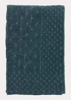 master bedroom origin bedspread petrol velvet linen sy 104 fabric copenhagen pinterest copenhagen