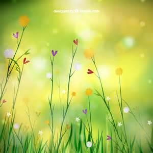Free vector spring background with flowers 17225 my graphic hunt