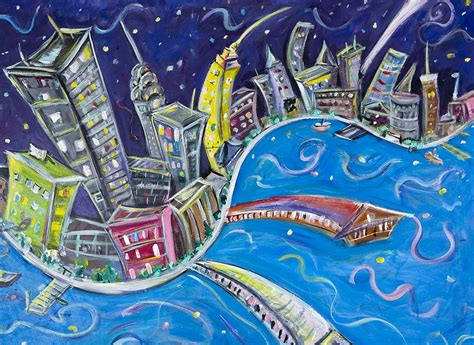 paint with a twist nyc new york city nights painting by jason gluskin