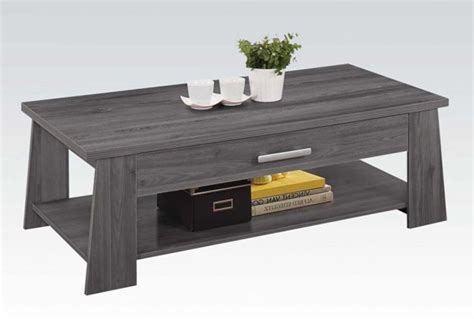 acme furniture falan coffee table acme furniture falan gray coffee table the home