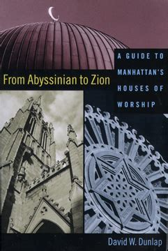 From Abyssinian To Zion books quot from abyssinian to zion a guide to manhattan s