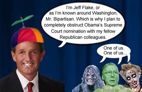 Flake Meme - anti trump senator just got career ending news he s done