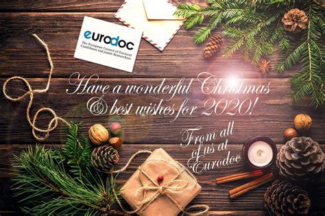 merry christmas  happy  year  eurodoc