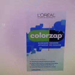 loreal hair color remover l oreal colorzap hair color remover kit ebay