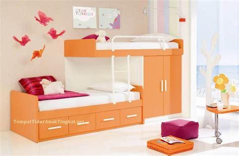 Tempat Tidur Tingkat Kayu Olympic tempat tidur anak tingkat bandung minimalis gt design